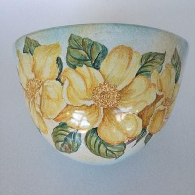 Italian Ceramic Guarino Applique